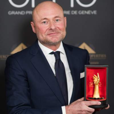 Georges Kern, CEO de Breitling, lauréat du Prix de la Montre de Plongée 2020
