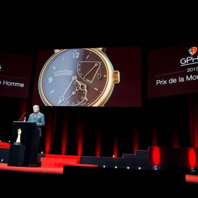 Speech of Kari Voutilainen, founder of Voutilainen, winner of the Men's Watch Prize 2013