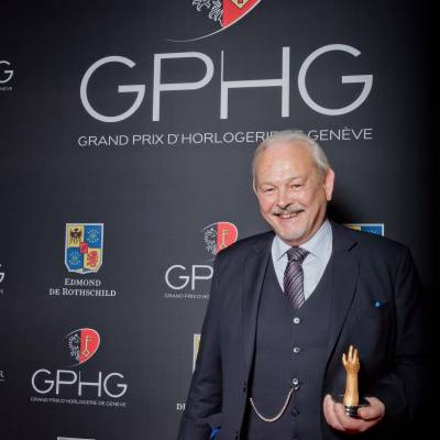 Philippe Dufour, winner of Special Jury Prize