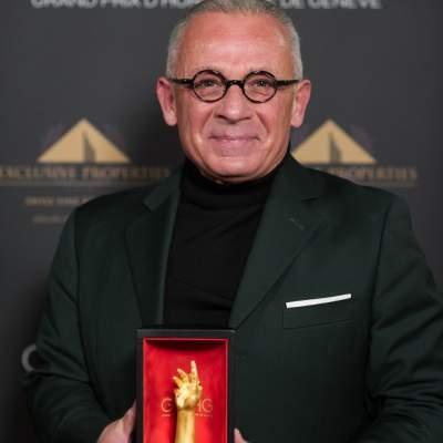 Pascal Raffy, Président de Bovet 1822, lauréat du Prix de la Montre Dame 2020