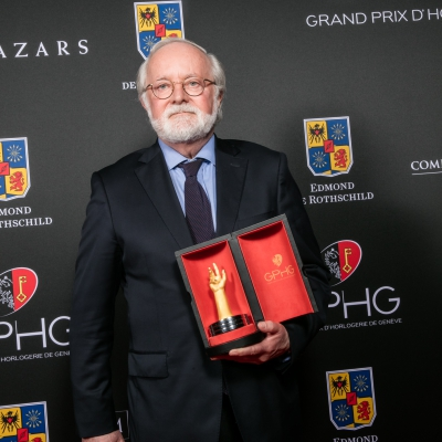 Laurent Ferrier (Founder of Laurent Ferrier, winner of the Horological Revelation Prize 2015)
