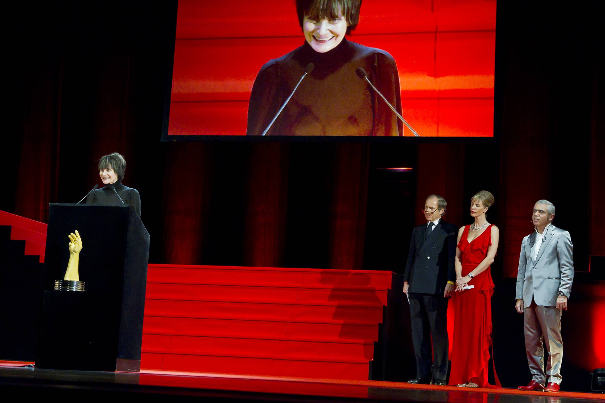Micheline Calmy Rey, President of the Swiss Confederation, November 19th, 2011
