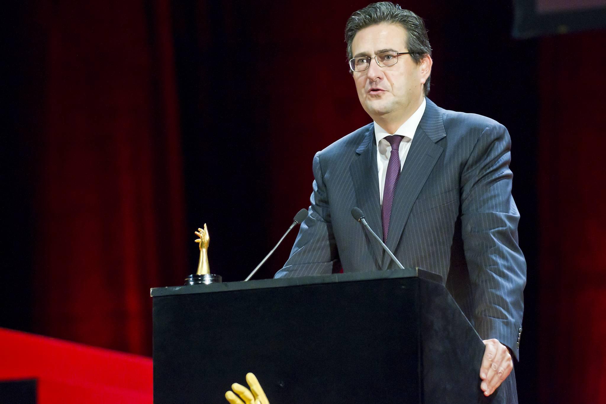 Luc Perramond, CEO de La Montre Hermès, marque lauréate du Prix de la Montre Homme 2011