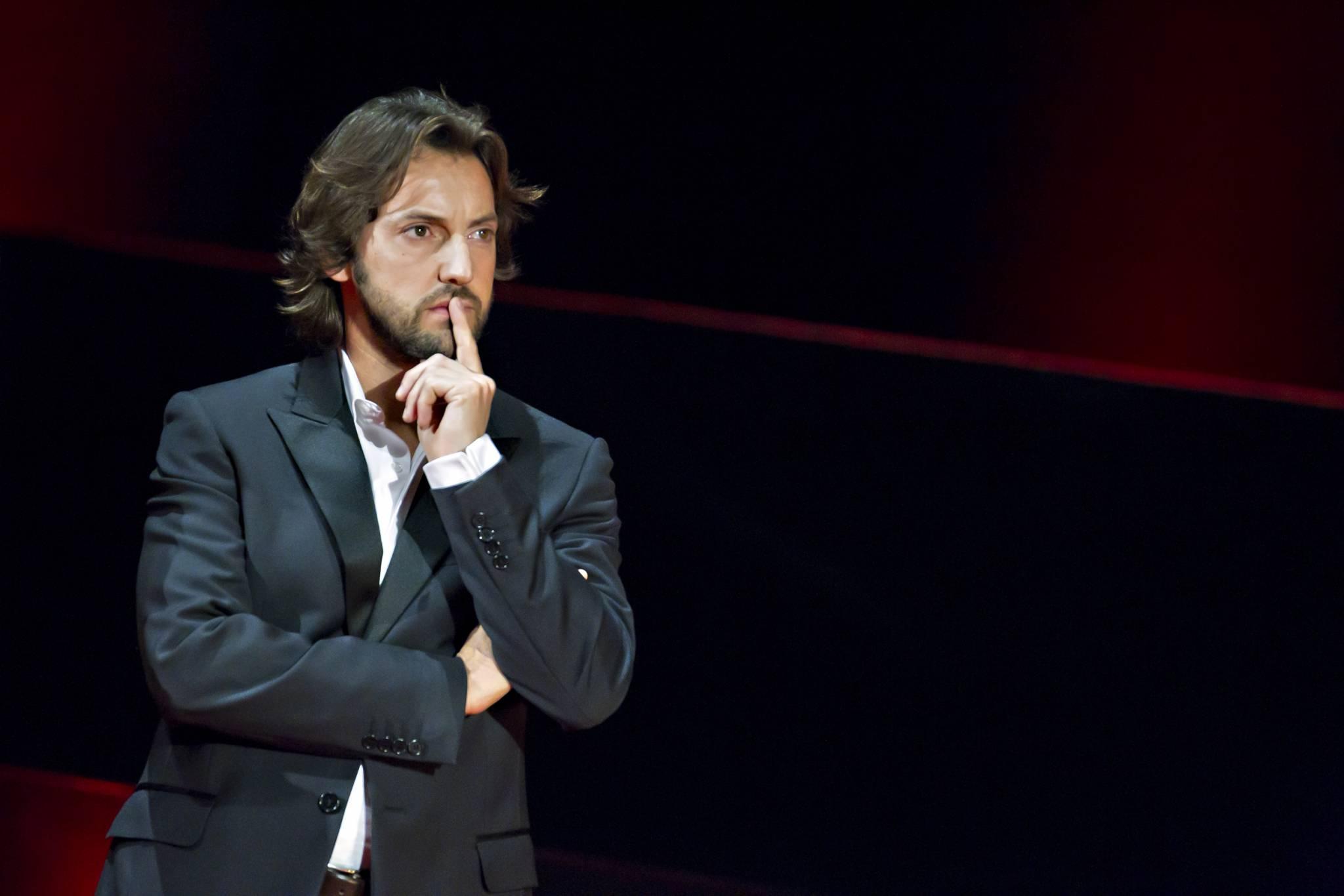 Frédéric Diefenthal après l'annonce de la montre lauréate du Prix de la Montre Homme 2011