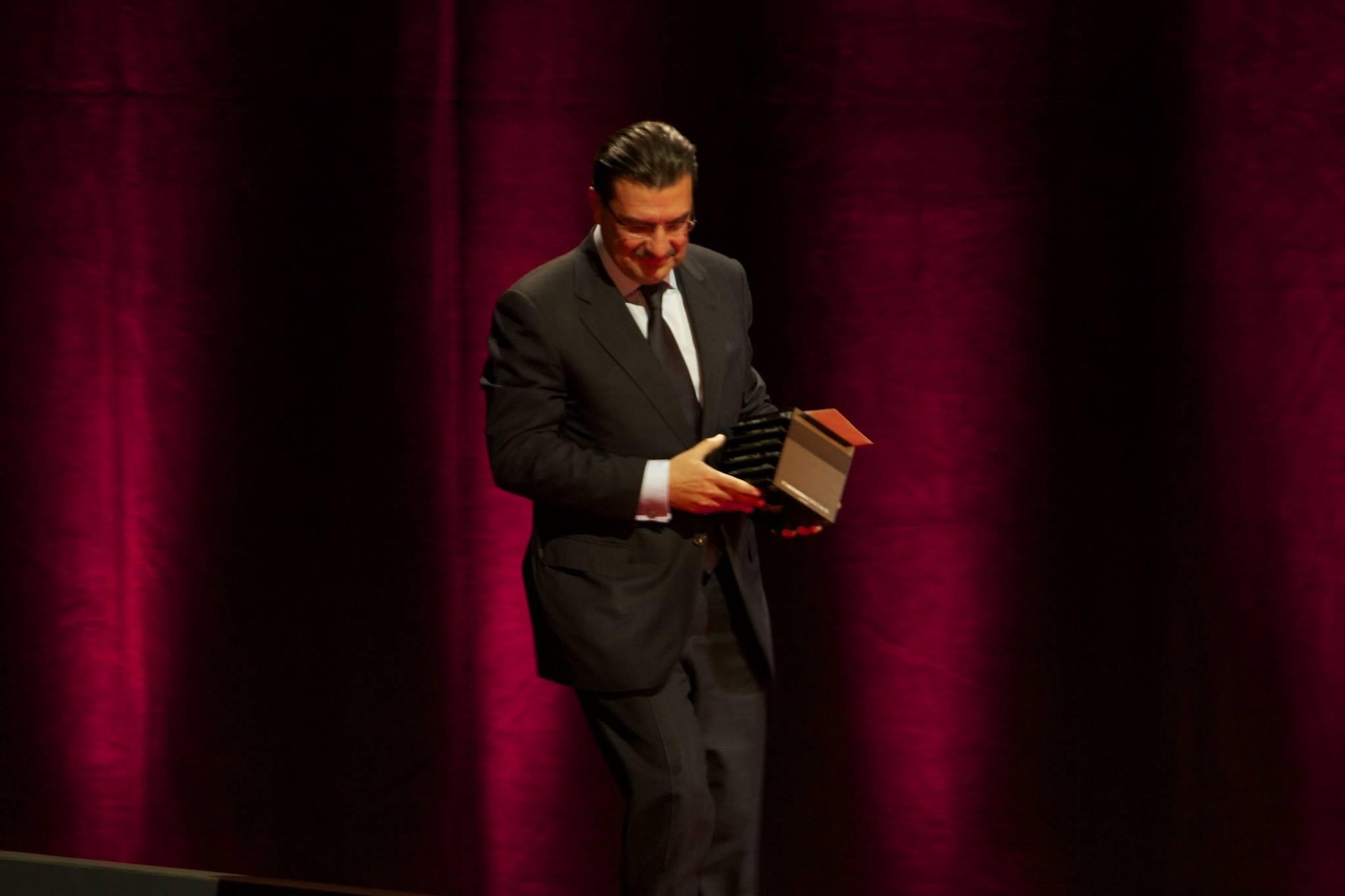 Juan-Carlos Torres, CEO de Vacheron Constantin, cérémonie 2010