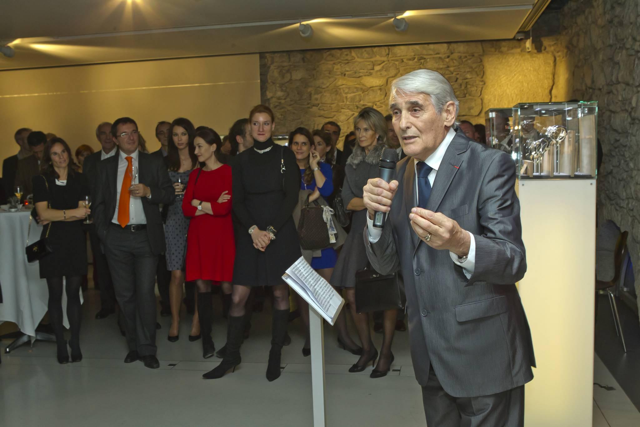 Discours de Carlo Lamprecht, Président du GPHG lors du cocktail d'inauguration de l'exposition genevoise, 8 novembre 2011