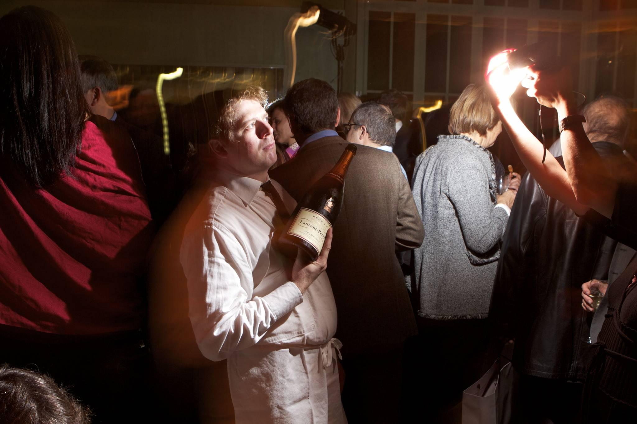 Ambiance d'après cérémonie, lors de l 'After Party officielle du GPHG, organisée par Les Ambassadeurs, 19 novembre 2011