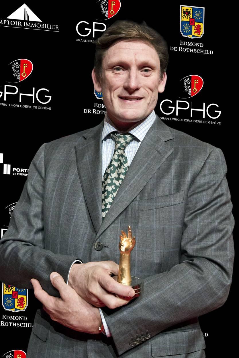Stephen Forsey, co-fondateur de Greubel Forsey, marque lauréate du Prix de la Grande Complication 2012