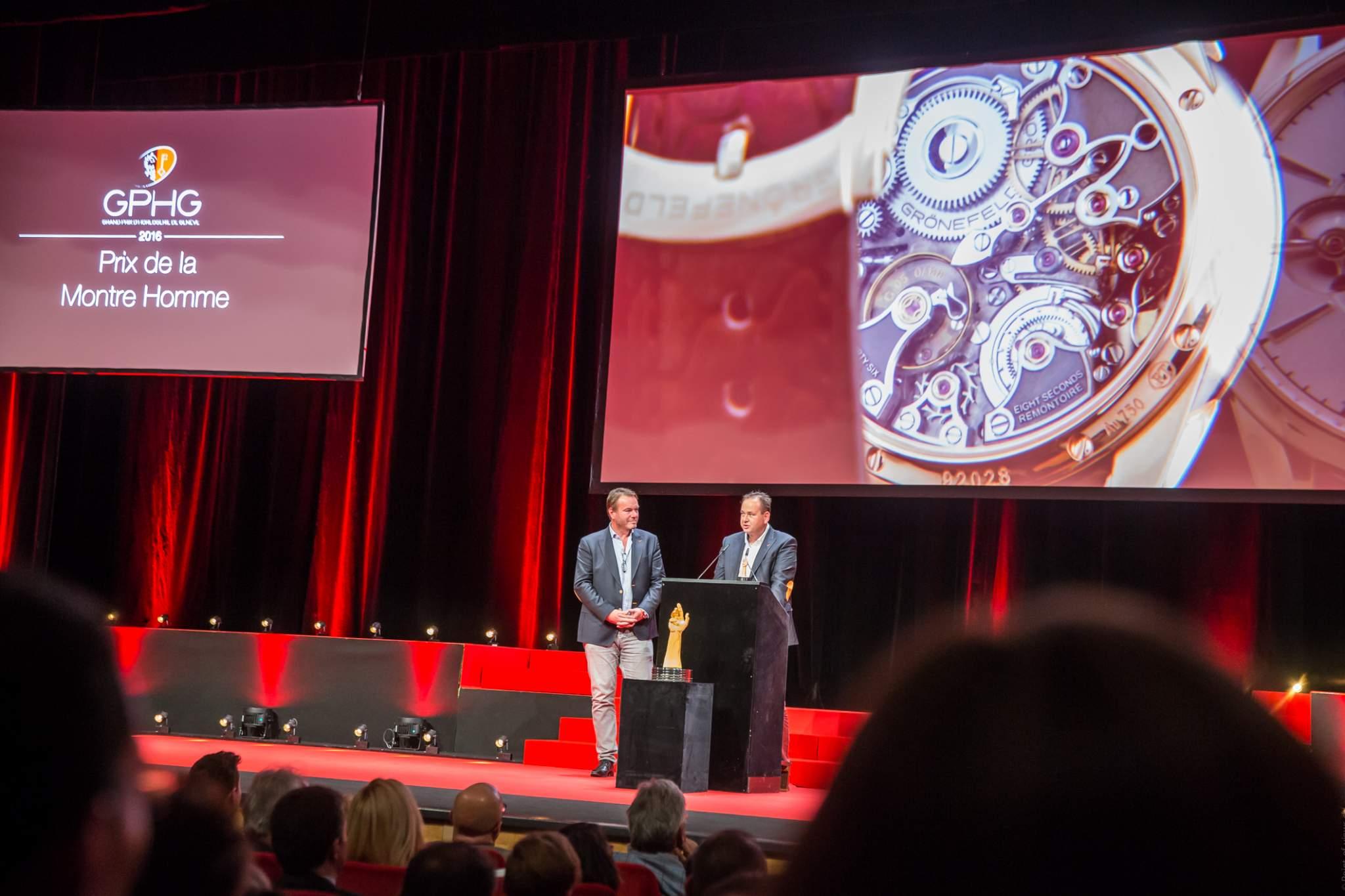 Tim and Bart Grönefeld (Co-founders of Grönefeld, winner of the Men's Wazch Prize 2016)