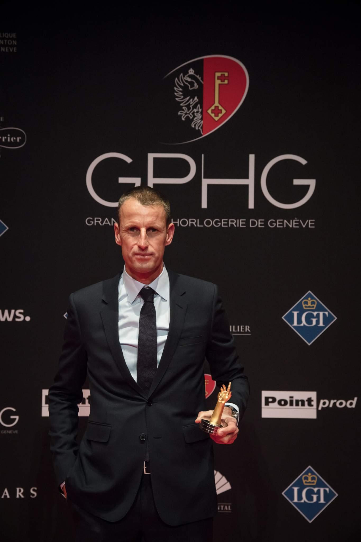Patrick Pruniaux (CEO de Ulysse Nardin, lauréat du Prix de la Montre Sport 2017)