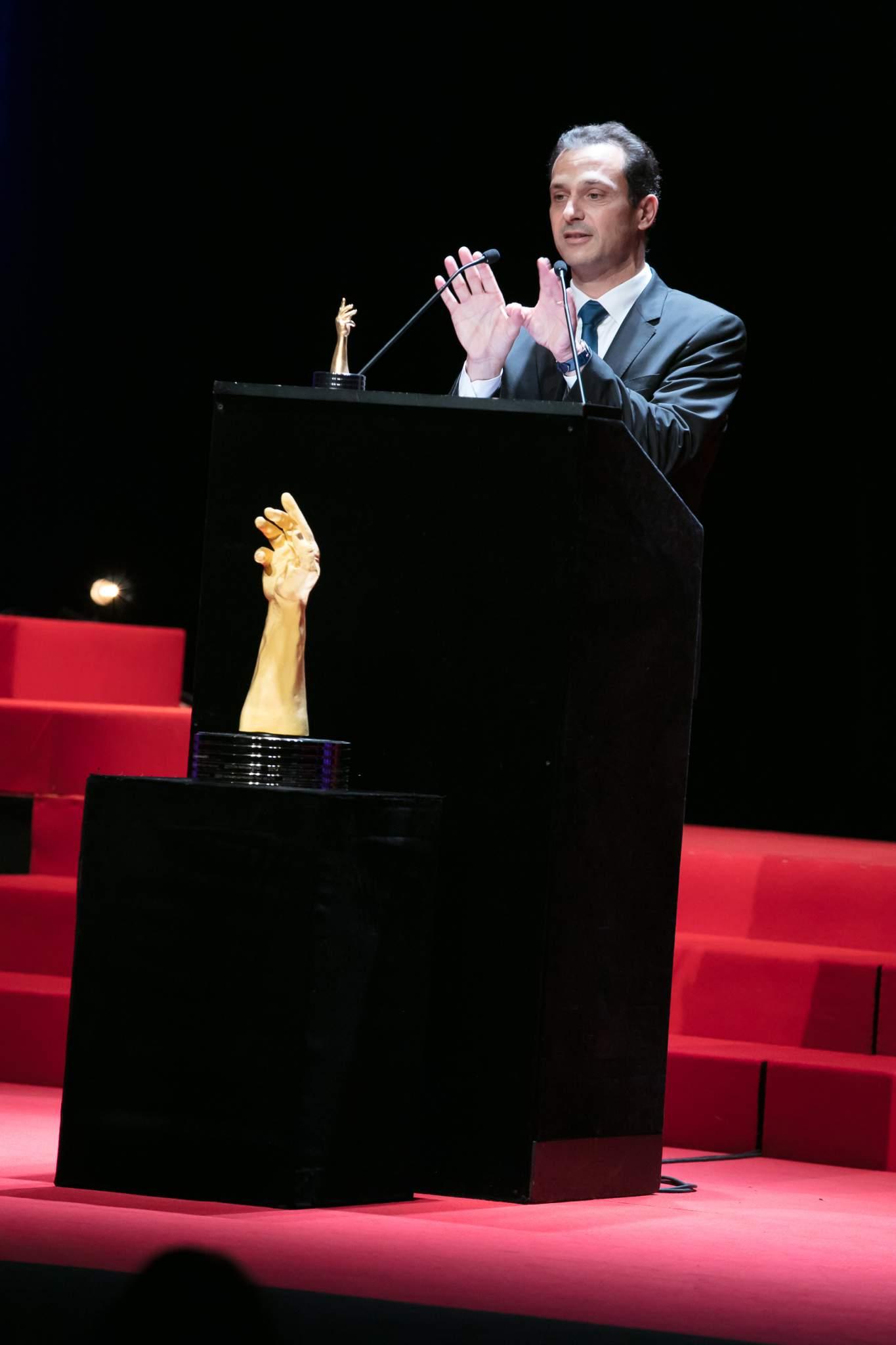 Eric de Rocquigny (Directeur International Opérations & Métiers de Van Cleef & Arpels, lauréat du Prix de la Haute Mécanique pour Dame 2017)