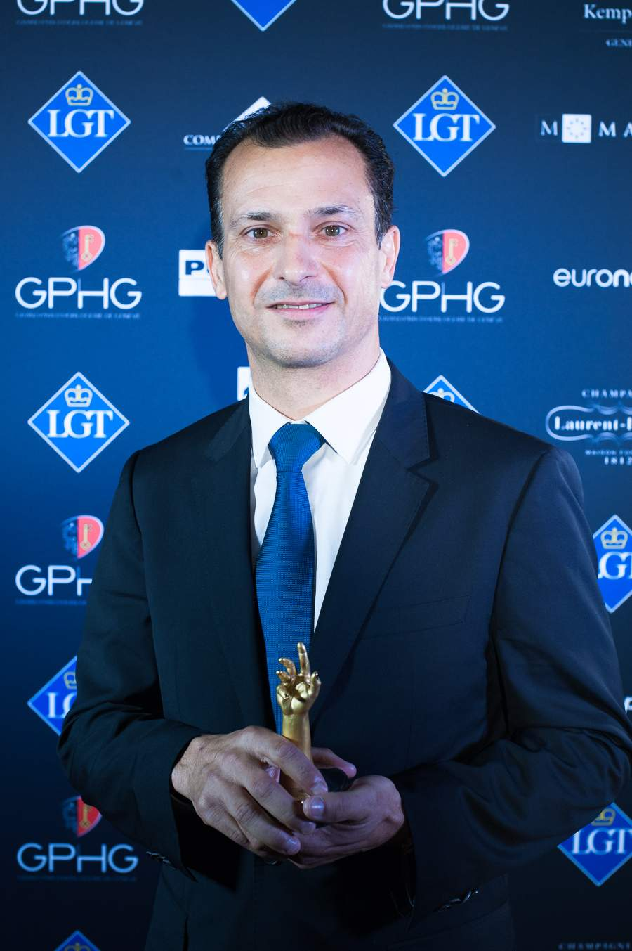 Eric de Rocquigny, Directeur International Operations & Métiers of Van Cleef & Arpels, winner of the Jewellery Watch Prize 2018 and the Women's Complication Watch Prize 2018