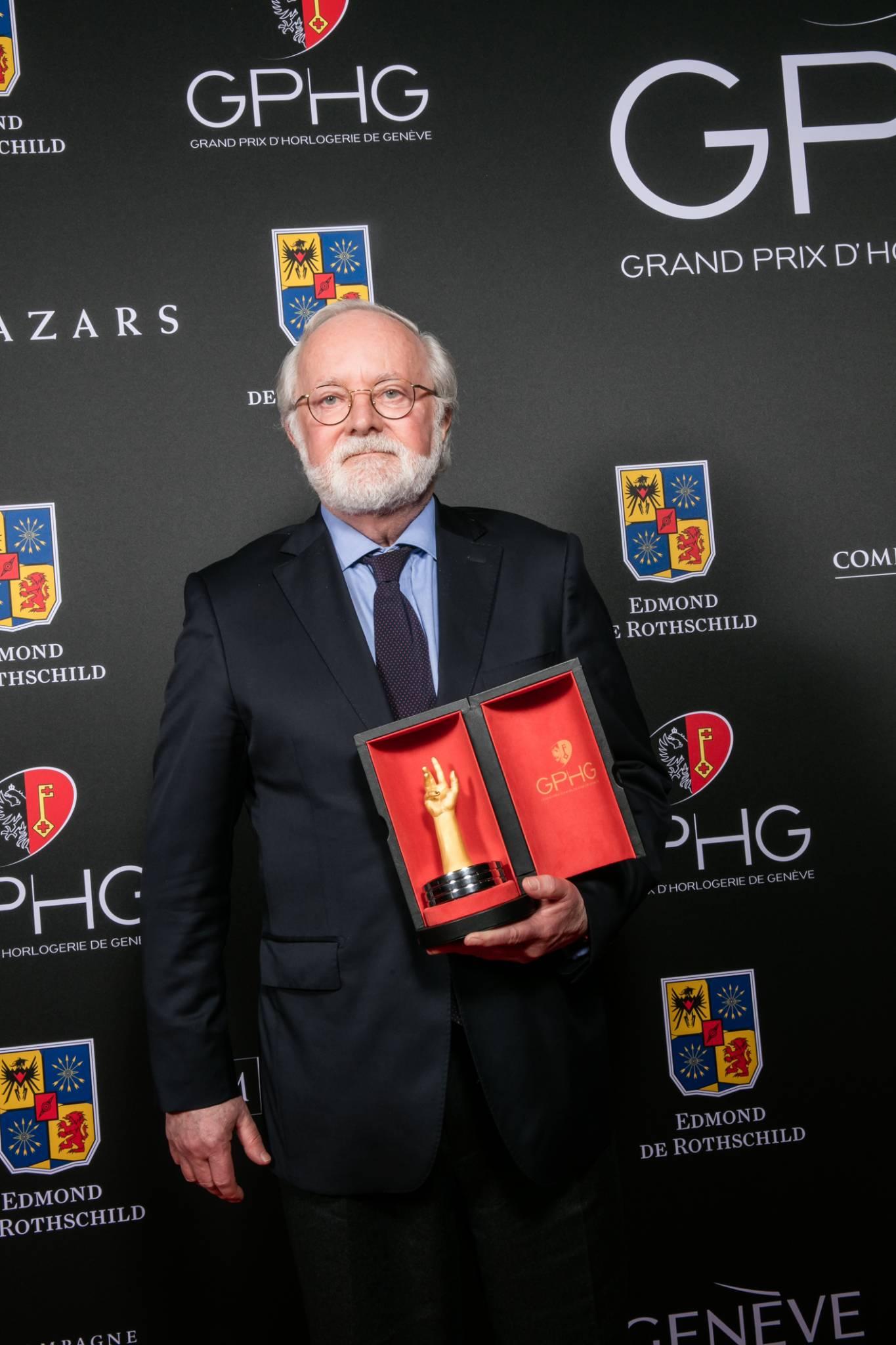 Laurent Ferrier (Founder of Laurent Ferrier, winner of the Horological Revelation Prize 2015)