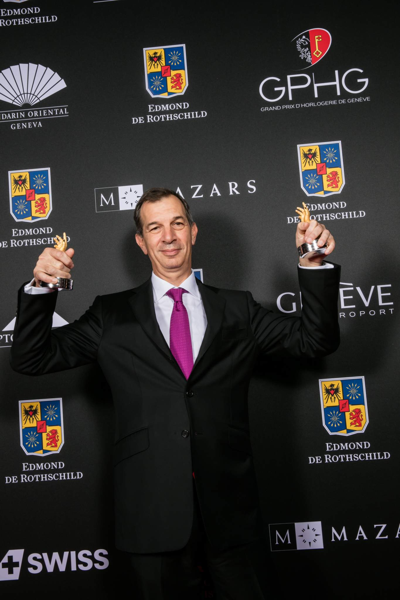 Philippe Léopold-Metzger (CEO of Piaget, winner of the Chronograph Watch Prize 2015 and the Revival Watch Prize 2015)