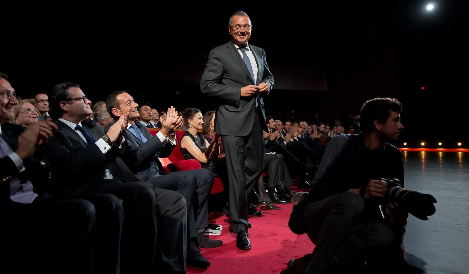 Jean-Christophe Babin (CEO of Bulgari, winner of the Jewellery Watch Prize 2014)