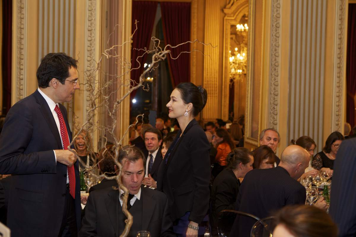 Gala dinner of the GPHG 2013 at the Grand Théâtre de Genève