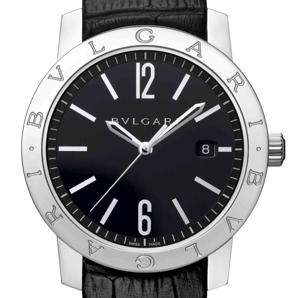 ... la montre Bulgari Bulgari Carbongold Roma 1884 Bulgari Bulgari ... a8b4d70f529