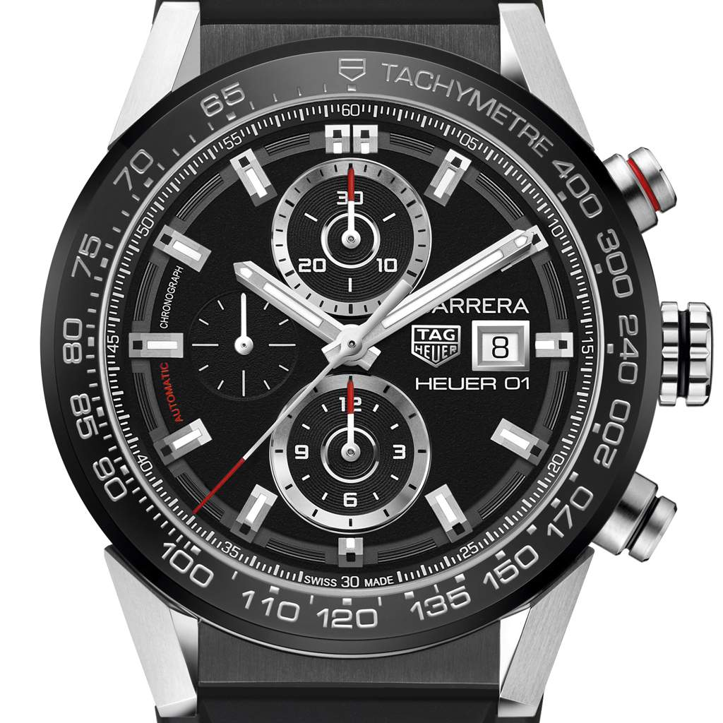 280cc3c6ce9 Carrera Calibre Heuer 01 Chronograph 43mm