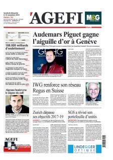 AGEFI - Audemars Piguet gagne l'aiguille d'or à Genève