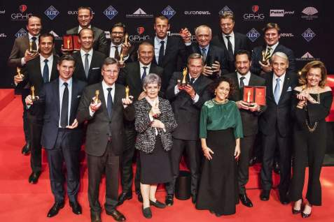 Revolution - Complete Winners' List at the 17th Grand Prix d'Horlogerie de Genève