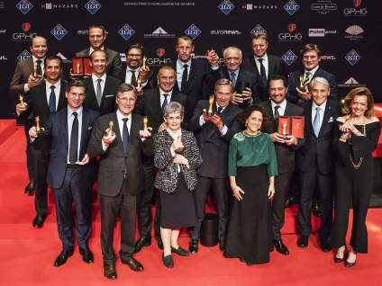 L'Aiguille d'Or décernée à Chopard pour la montre L.U.C Full Strike