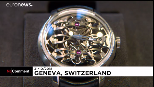 Euronews -  WATCH! The 2018 Grand Prix d'Horlogerie de Genève (GPHG) final stage.