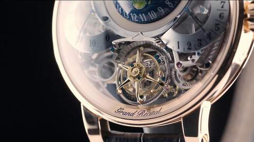 """Euronews - GPHG 2018: Bovet received the award for """"best watch"""""""