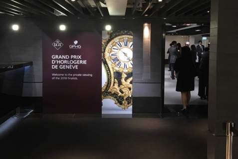 GRAND PRIX D'HORLOGERIE DE GENEVE 2018 Hong Kong, 2ème étape du Roadshow