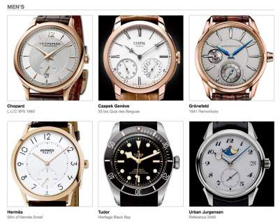 Watch  Collecting Lifestyle - News: The Grand Prix d'Horlogerie de Genève Unveils the Preselection for 2016. Time To Vote Online
