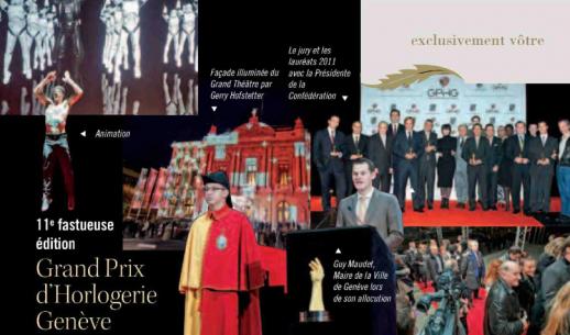 Exclusif magazine - 11ème fastueuse édition : Grand Prix d'Horlogerie de Genève