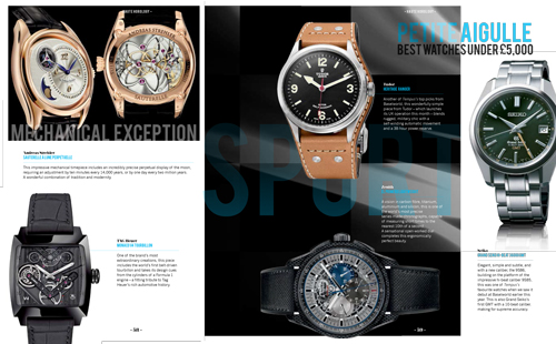 tempus magazine - GPHG 2014