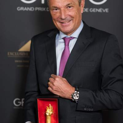 Jean-Christophe Babin, CEO de Bulgari, lauréat du Prix de la Montre Iconique 2020
