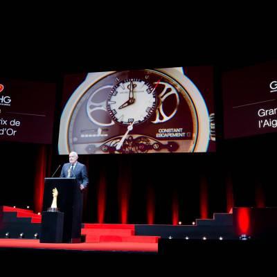 Speech of Michele Sofisti, CEO of Girard-Perregaux, winner of the « Aiguille d'Or » Grand Prix 2013