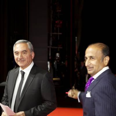 Claude Sfeir and Viren Bhagat, members of the Jury 2013
