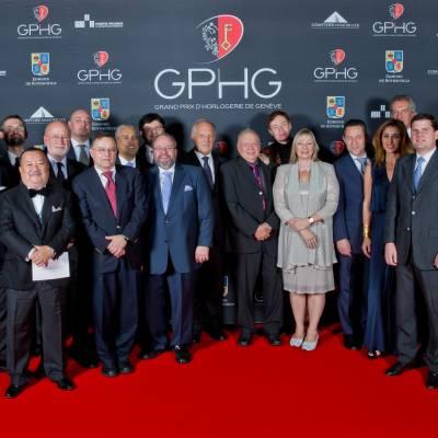 Jury members of the GPHG 2014
