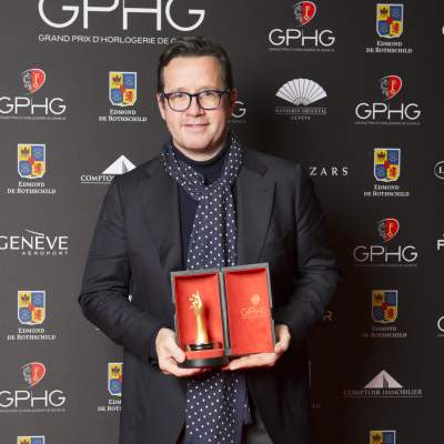 François Bennahmias (CEO of Audemars Piguet, winner of the Mechanical Exception Watch Prize 2016)