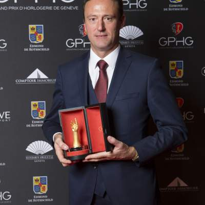Eric Pirson (Director of Tudor, winner of the « Petite Aiguille » Watch Prize 2016)