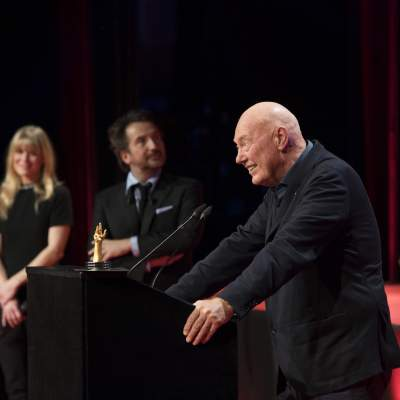 Jean-Claude Biver, President non-executive of the LVMH Group Watch division, Chairman of Hublot & Zenith, winner of the Special Jury Prize 2018