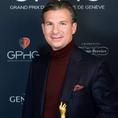 CEO of Vacheron Constantin, winner of the Innovation Prize 2019