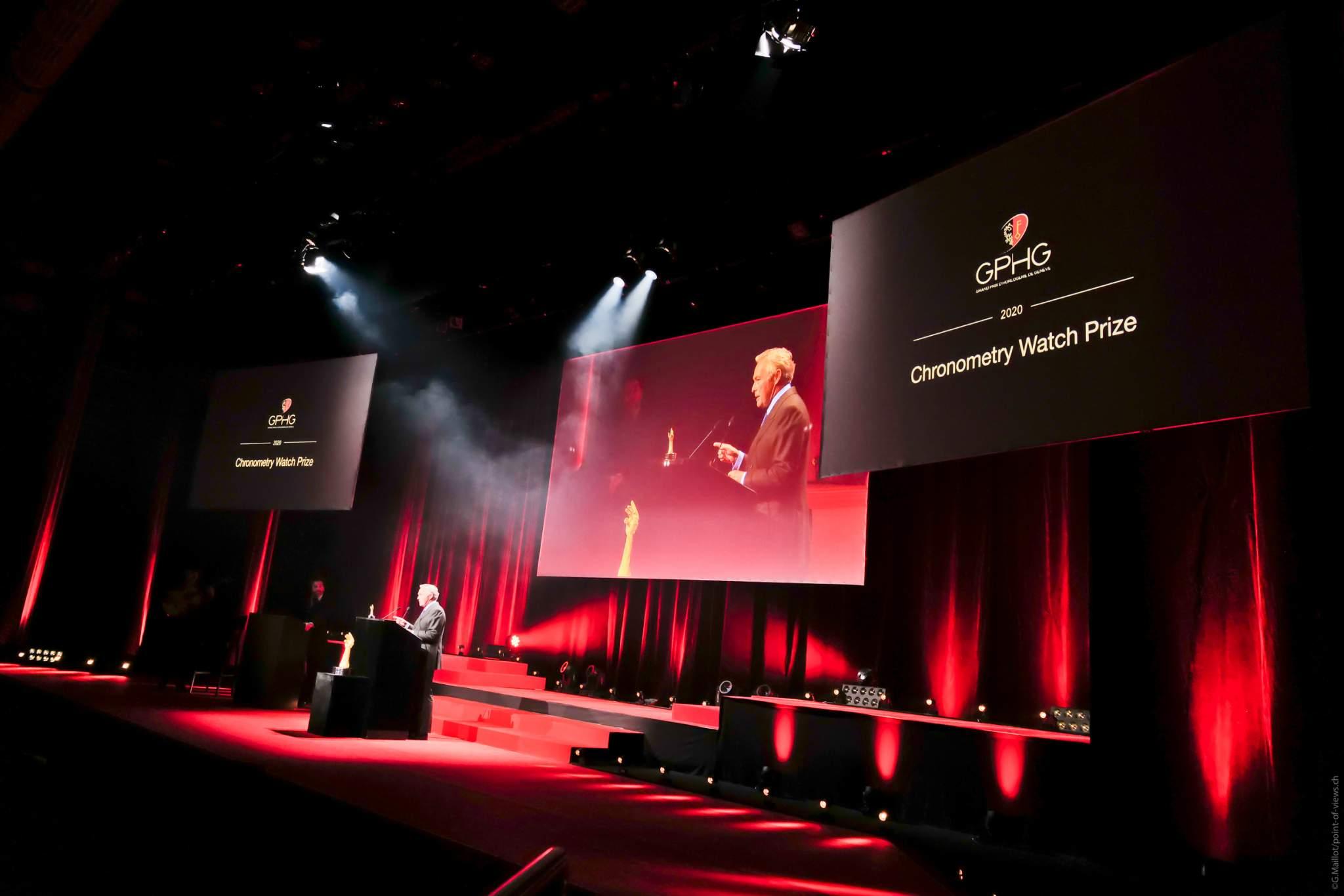 Karl-Friedrich Scheufele, Président de Chronométrie Ferdinand Berthoud, lauréat du Prix de la Chronométrie 2020