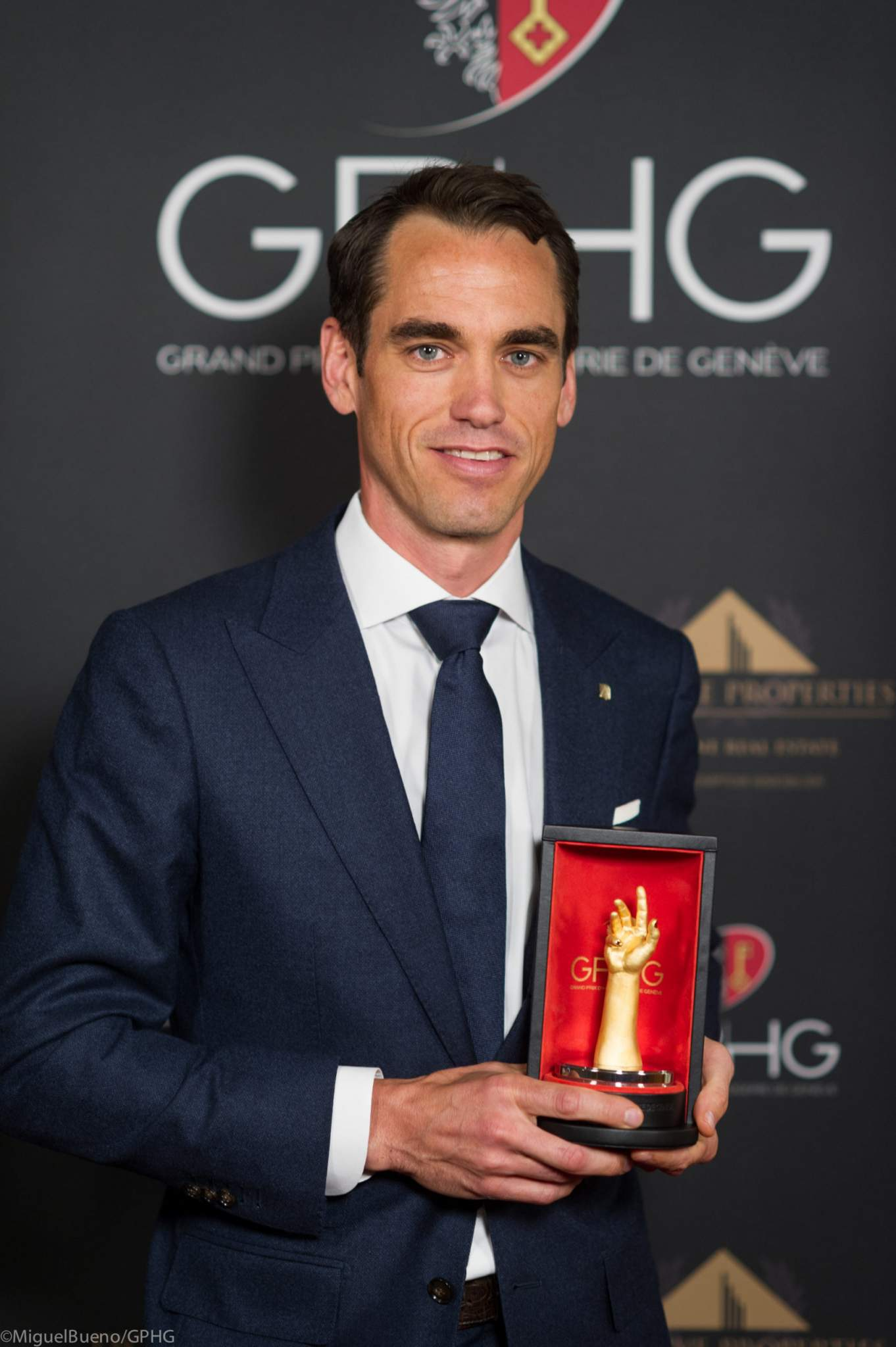 Edouard Meylan, CEO de H. Moser & Cie, lauréat du Prix de l'Audace 2020