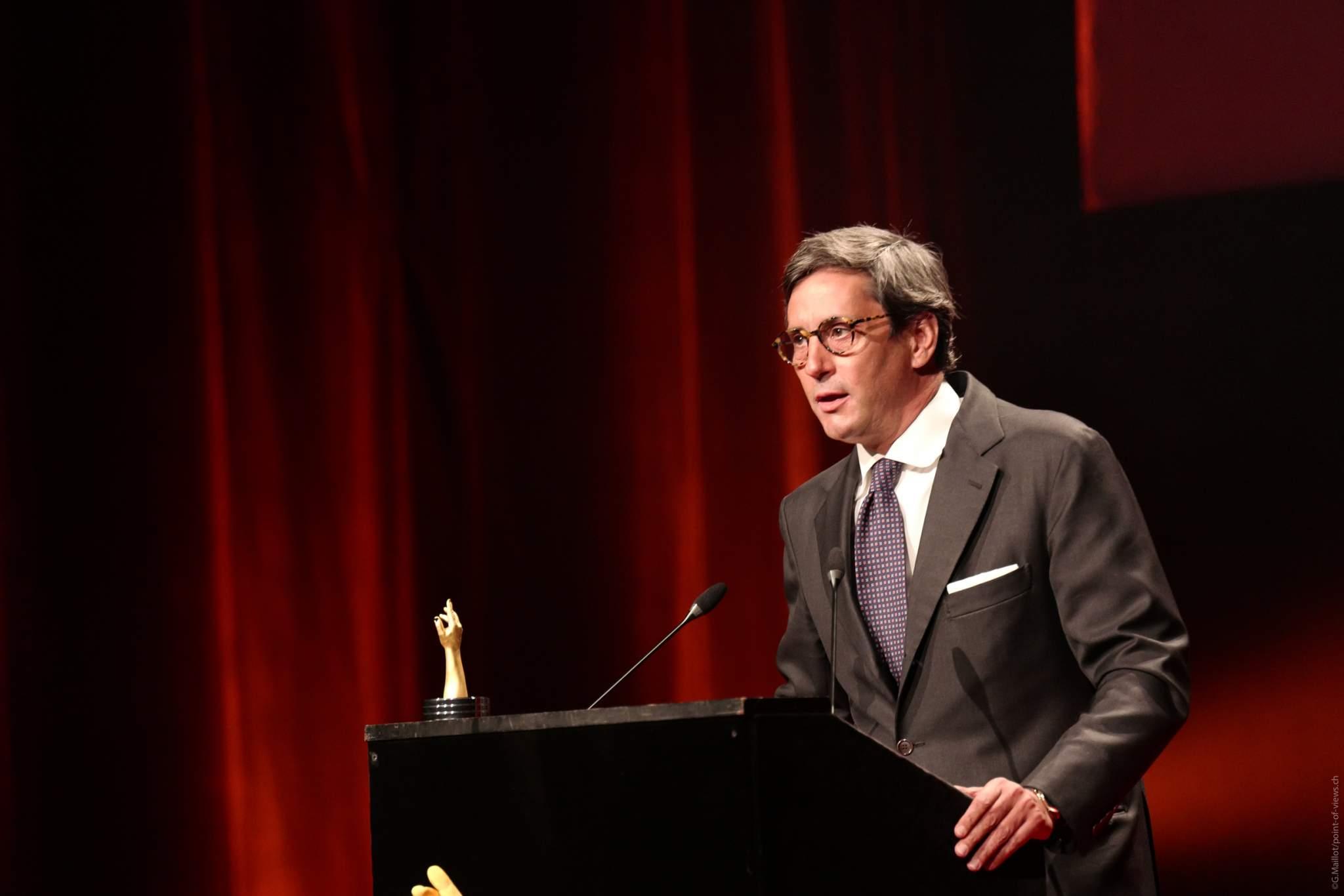 Davide Traxler, CEO de Parmigiani Fleurier, lauréat du Prix de l'Innovation 2020