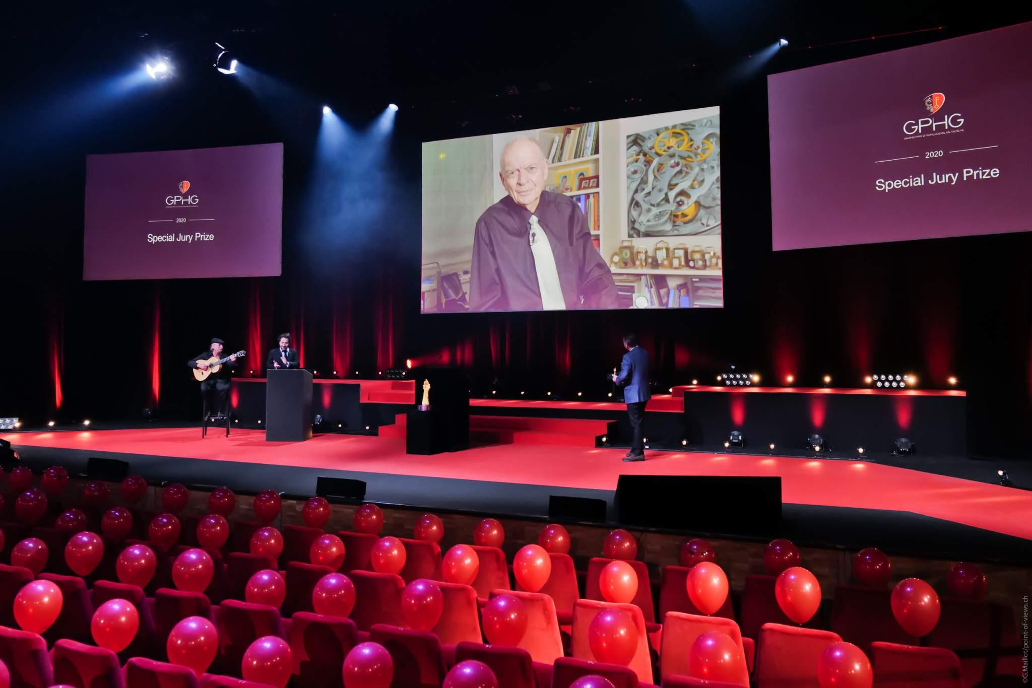 Antoine Simonin, Expert et enseignant en horlogerie, éditeur et ancien directeur du Wostep, lauréat du Prix Spécial du Jury 2020