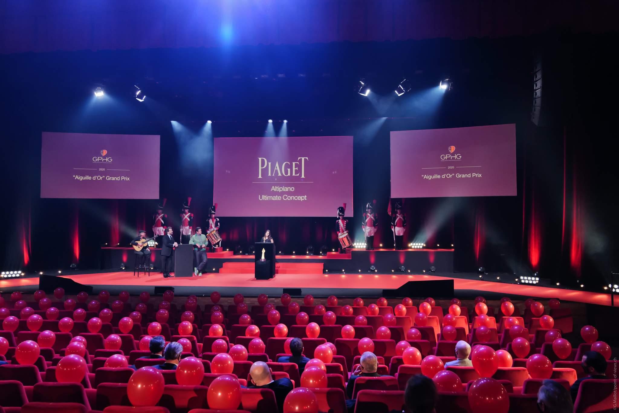 Chabi Nouri, CEO de Piaget, lauréat du Grand Prix de l'Aiguille d'Or