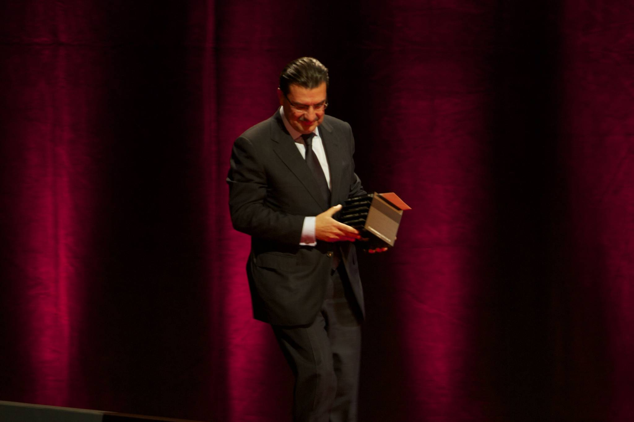 Juan Carlos Torres, CEO of Vacheron Constantin, 2010 ceremony