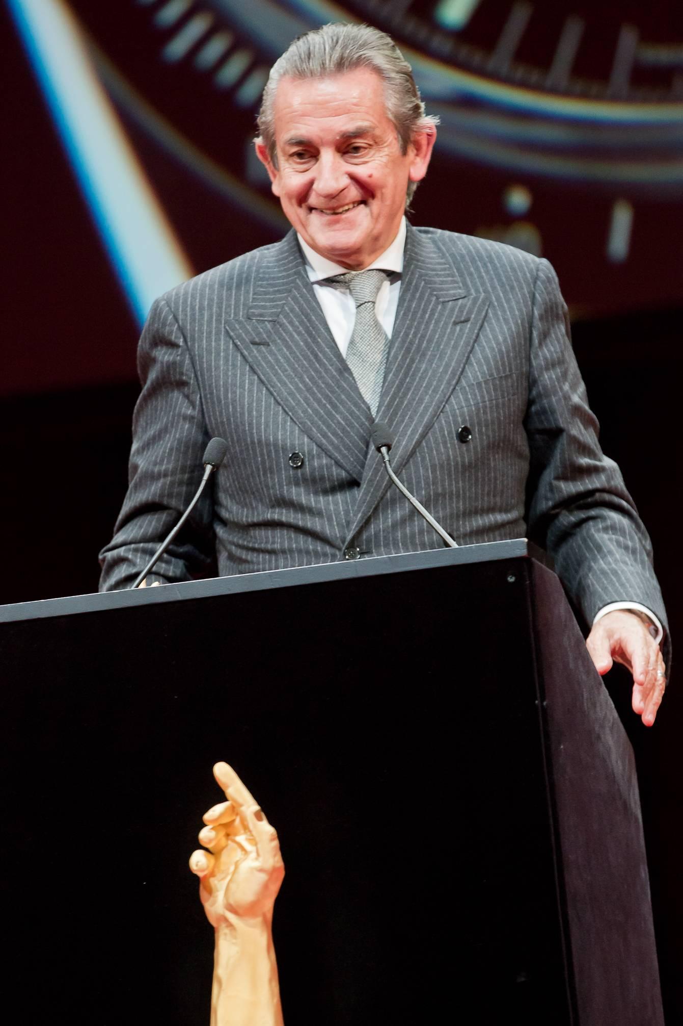 Stephen Urquhart (CEO de Omega, marque lauréate du Prix « Revival » 2014)
