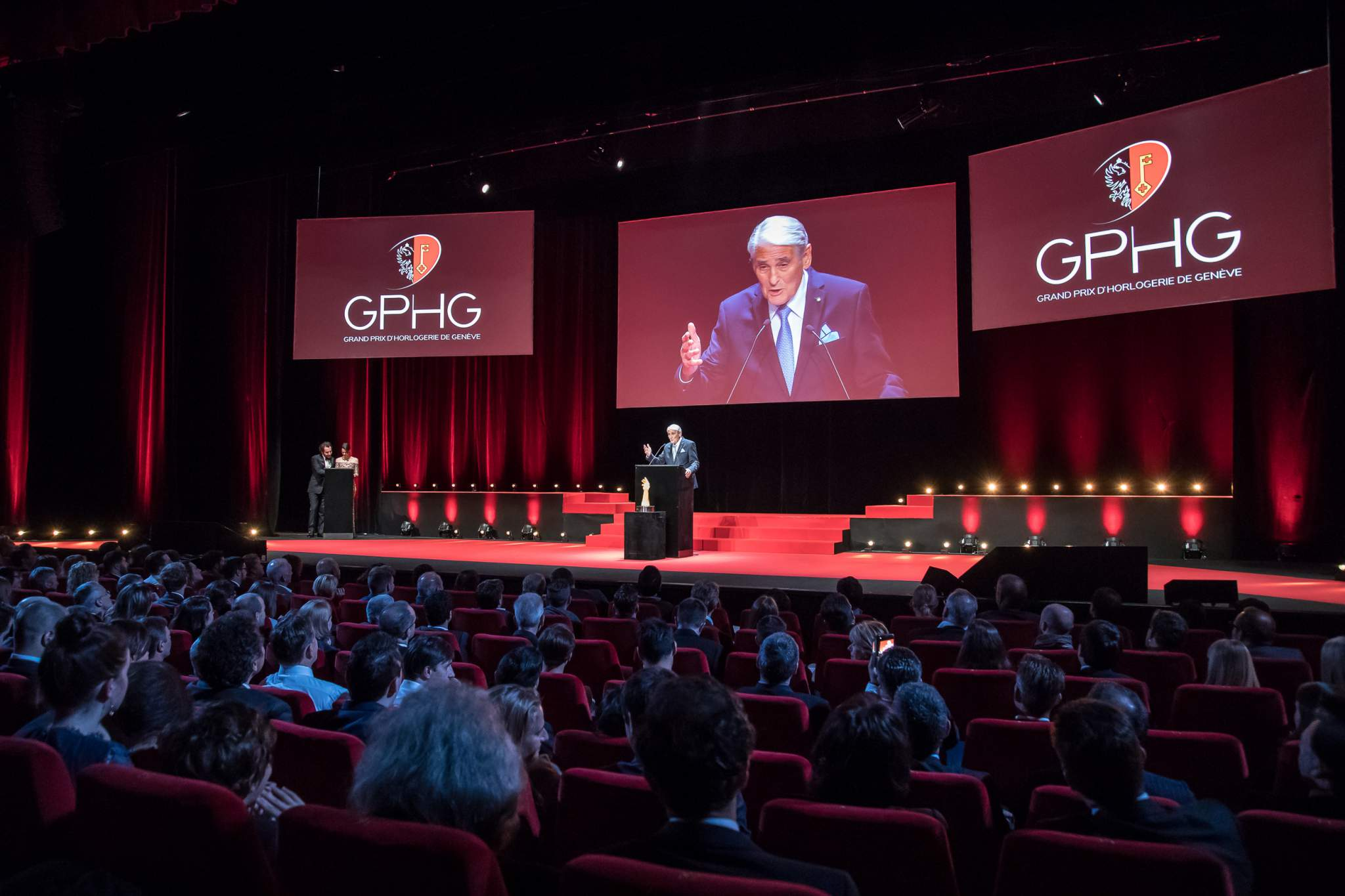 Carlo Lamprecht (President of the GPHG Foundation)