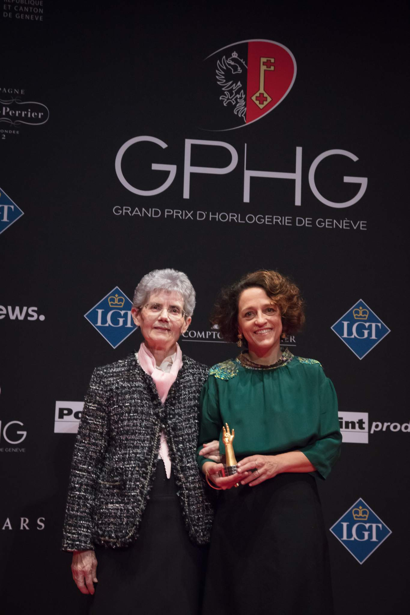 Suzanne Rohr and Anita Porchet (winners of Special Jury Prize 2017)
