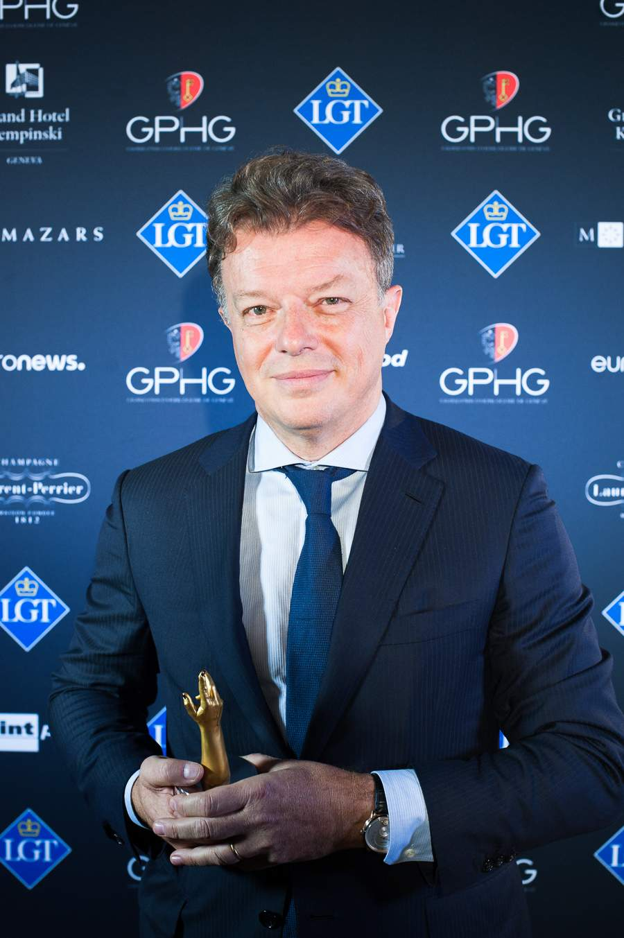 Nicolas Beau, Directeur International Horlogerie et Joaillerie of Chanel, winner of the Ladies' Watch Prize 2018
