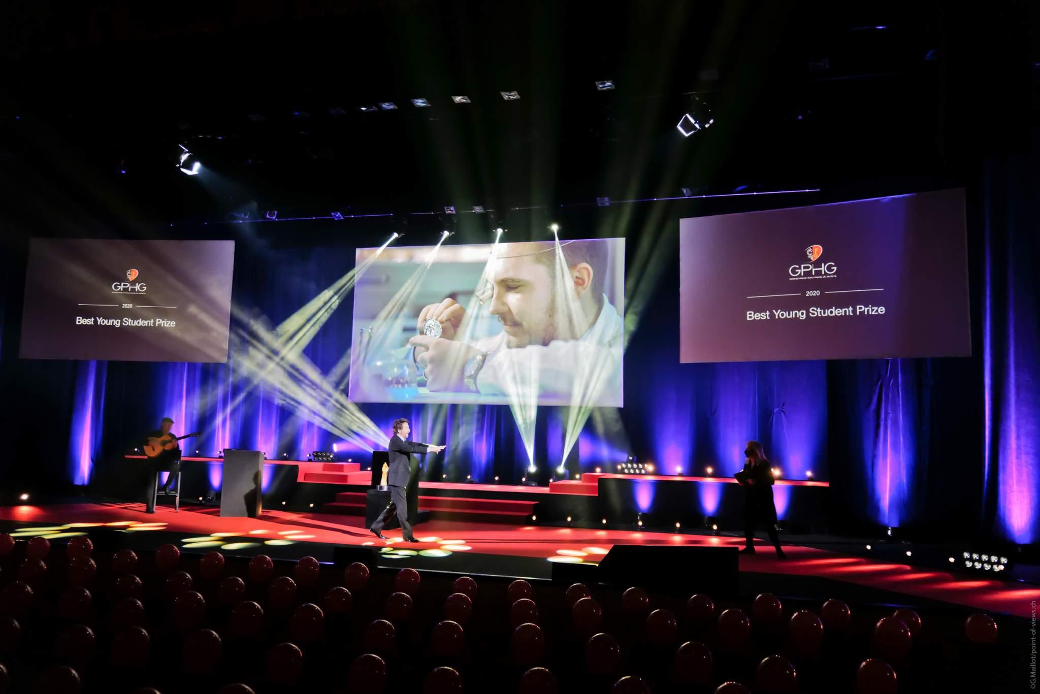 Romain Labat, Lauréat du Prix du Meilleur Jeune Elève 2020
